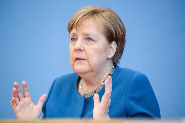 """Epidemia koronawirusa: Kanclerz Niemiec Angela Merkel chce potrząsnąć Niemcami słowami """"Nawet do 70 procent może zarazić się koronawirusem"""""""