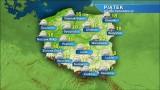 Piątek z przelotnym deszczem w całym kraju. Na północnym wschodzie możliwe burze