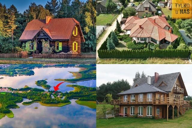 Wybraliśmy 18 najciekawszych nieruchomości. Łączy je fakt, iż nie znajdują się one na terenie miast, lecz wsi. A wam który dom podoba się najbardziej?