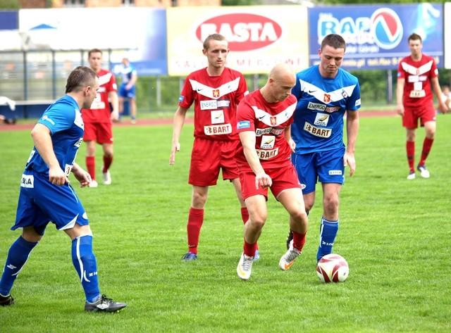 Adrian Talaśka w pojedynku z Michałem Siudzińskim