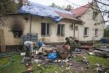 Pożar na Bałtyckiej. Znany społecznik potrzebuje pomocy (wideo, zdjęcia)
