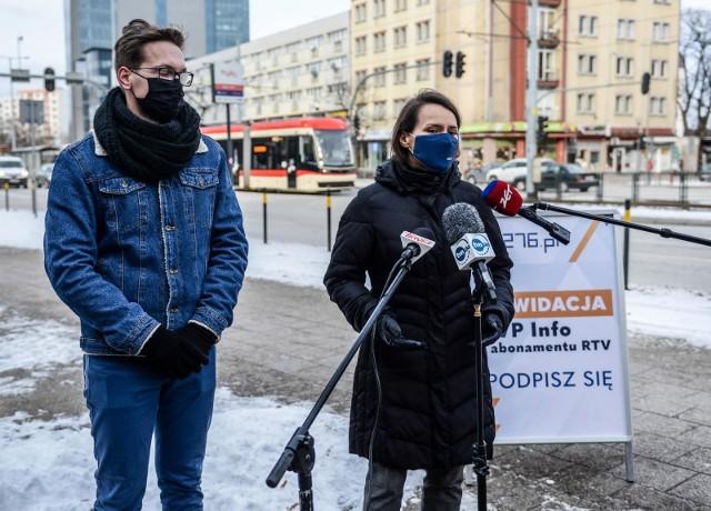 PO chce likwidacji TVP Info oraz abonamentu radiowo-telewizyjnego. Posłanka Agnieszka Pomaska rozpoczęła zbiórkę podpisów w Gdańsku