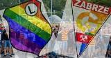 Herby klubowe w barwach LGBT. Górnik Zabrze, Zagłębie Sosnowiec, Raków Częstochowa, Legia Warszawa i inne zmienione klubowe loga