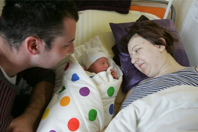 Igor Wojdas, syn Pauliny i Tomasza, urodził się 1 stycznia 2014