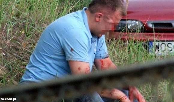 Ofiara pobicia w Lelisie