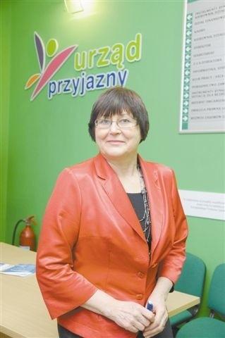 Irena Lebiedzińska, zastępca dyrektora Powiatowego Urzędu Pracy w Opolu. (fot. Sławomir Mielnik)