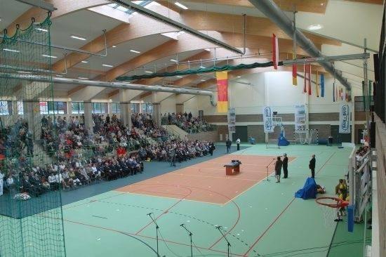 Hala sportowa w Dąbiu może być jedną z nowych inwestycji, jeśli samorząd dostanie pieniądze z programu Polski Ład.