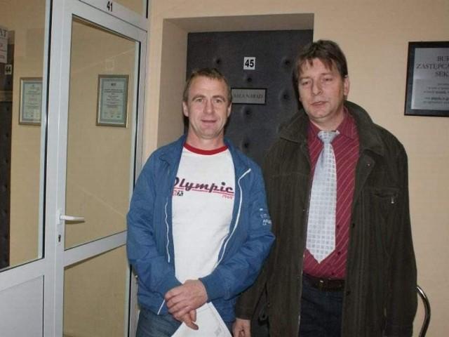 Roman Stolz i Robert Matuszewski nie składają broni w sprawie referendum.