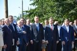 41 rocznica podpisania Porozumienia Katowickiego w Dąbrowie Górniczej. Prezydent Andrzej Duda wręczył weteranom Solidarności odznaczenia