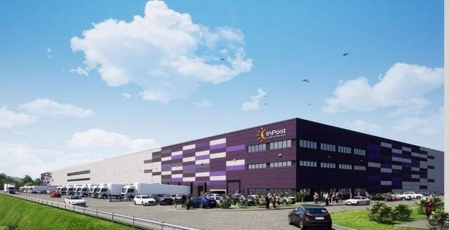 Tak będzie wyglądać centrum logistyczne InPost w Kluczborku.