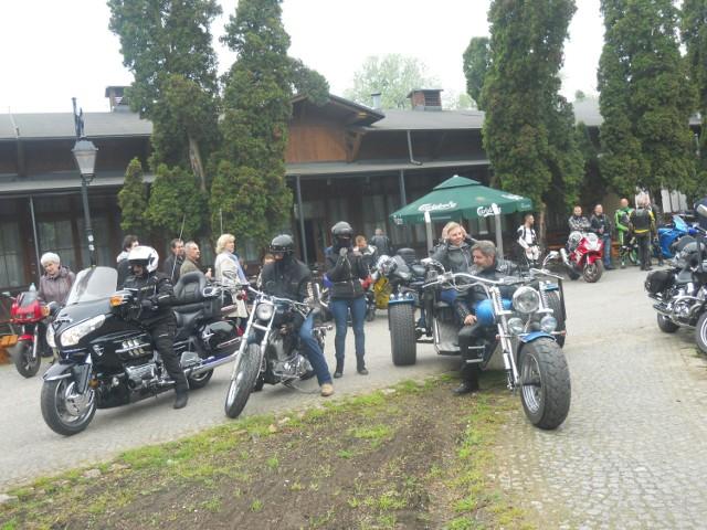 W ubiegłym roku przyjechali motocykliści nie tylko z naszego regionu