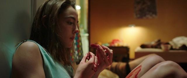 "Garance Marillier jako Justine. Kadr z filmu ""Mięso"""