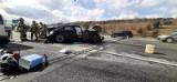 Wypadek na A4 w Zabrzu. Zderzyły się trzy samochody osobowe. Interweniuje śmigłowiec LPR