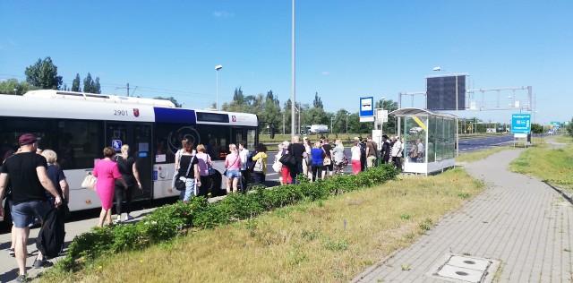 Autobusowa komunikacja zastępcza na prawobrzeżu w Szczecinie