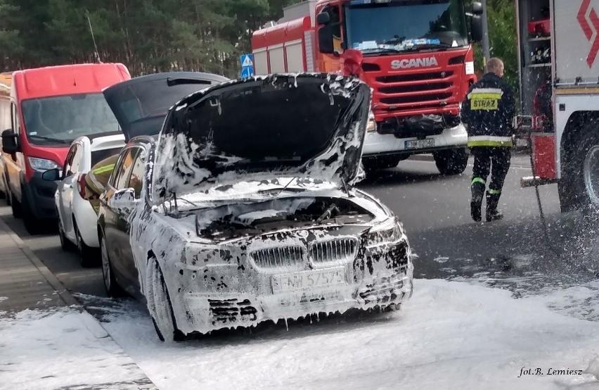 Do zwarcia instalacji elektrycznej w BMW zaparkowanym na...