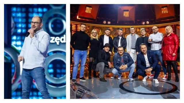 """Adrian Woźniak z Grudziądza wystąpił w Szansie na Sukces. Zaprezentował się w repertuarze zespołu Boys. Emisja programu na antenie """"dwójki"""", 2 maja o godz. 15.15"""