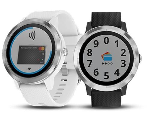 Pierwszym smartwatchem wyposażonym w technologię Garmin Pay jest model Garmin vívoactive 3.