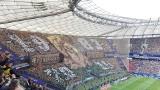 Kibice na finale Pucharu Polski: Jagiellonia Białystok - Lechia Gdańsk [OPRAWA, GALERIA]
