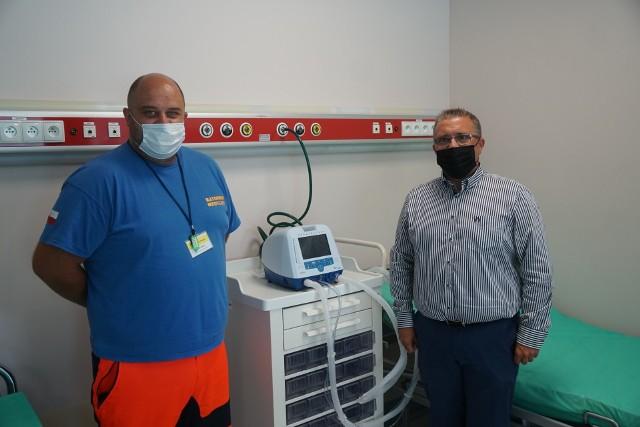 Nowy mobilny respirator w Białostockim Centrum Onkologii