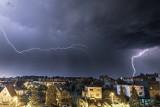 Burza nad Trójmiastem z 10 na 11 czerwca. Pioruny, nawałnica i ściana deszczu! [zdjęcia]