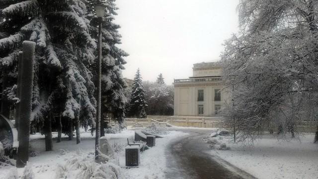Tak wygląda zimą Park Inwalidów Wojennych przy ul. Dąbrowskiego w Rzeszowie. Zdjęcia dostaliśmy od naszej Czytelniczki. Dziękujemy!