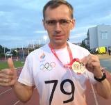 Krzysztof Pietrzyk z LKS Koluszki mistrzem Polski w biegu na 3 km podczas zawodów w Płocku