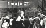Tak wyglądały kiedyś pochody pierwszomajowe w Poznaniu. Zobacz zdjęcia pokazujące, jak obchodzono Święto Pracy