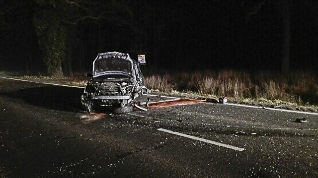 W wypadku ranne zostały cztery osoby