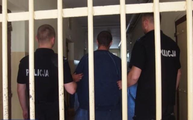 Areszt policyjny. Zdjęcie ilustracyjne.