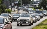 Zderzenie 5 samochodów na Wiaduktach Warszawskich w Bydgoszczy! Jedna osoba w szpitalu