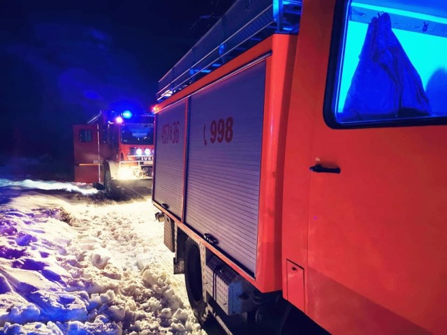 Tragiczny finał wędkowania w Dziemianach w poniedziałek, 26.01.2021 r.! Pod wędkarzem załamał się lód