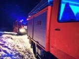 Tragedia na jeziorze w Dziemianach. 25.01.2021 r. Pod wędkarzem załamał się lód. 62-latka nie udało się uratować