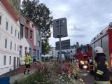 Pożar w Czarnkowie - nie żyje mężczyzna, który mieszkał na poddaszu budynku przy ul. Karskiego