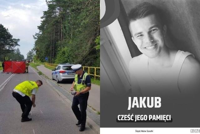 Śmiertelny wypadek motocyklisty w Suwałkach. Droga wojewódzka 655 zablokowana