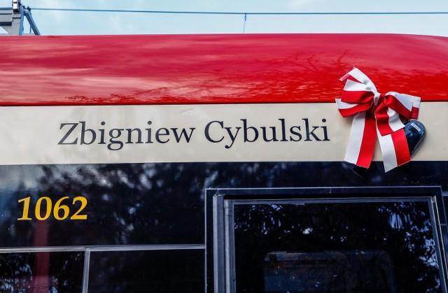 Zbigniew Cybulski został patronem tramwaju w Gdańsku