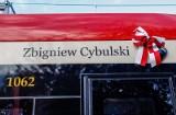 Imię Zbigniewa Cybulskiego, legendarnego aktora, nosi od wtorku 3.11.2020 jeden z gdańskich tramwajów
