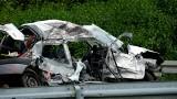 Śmiertelny wypadek w Gwieździnie (powiat człuchowski). Zderzenie osobówki i ciężarówki, nie żyją dwie osoby!