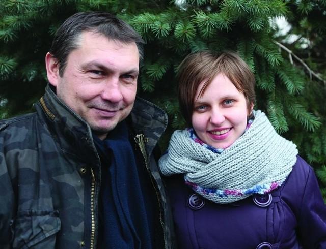 Dagmara Widanow i Bogdan Dudko