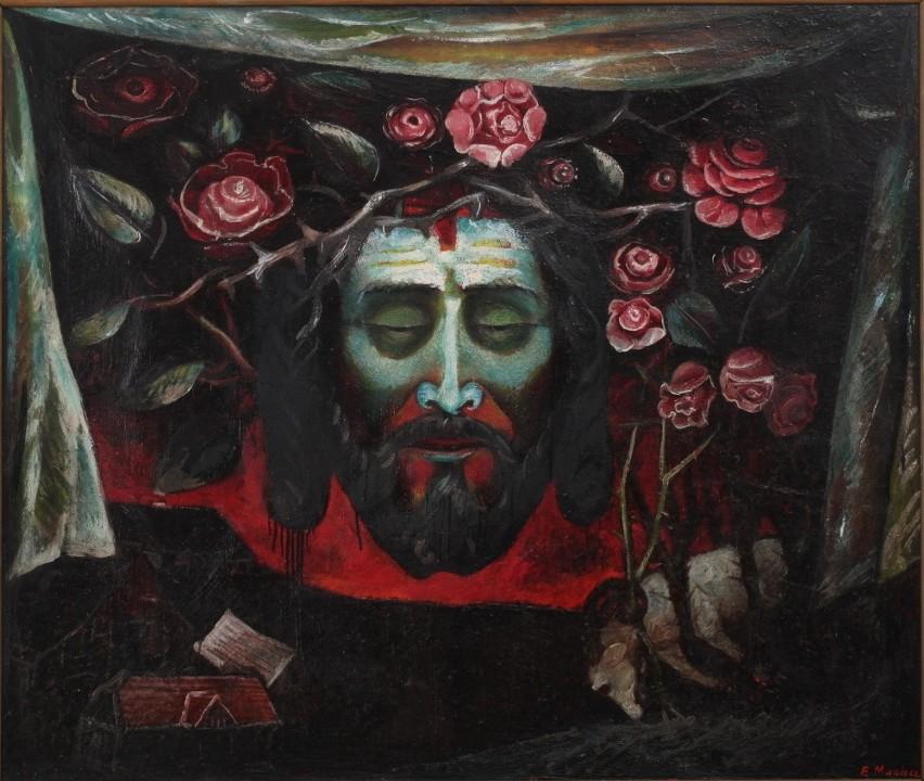 """""""Chusta św. Weroniki"""" Eugeniusza Muchy"""