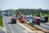 A2: W poniedziałek ruszają prace na autostradowym odcinku obwodnicy Poznania między Luboniem a Krzesinami. Będą utrudnienia!