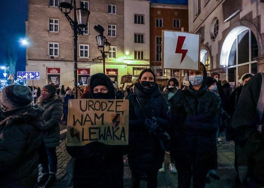 Protest w sprawie aborcji w Gdańsku 28.01.2021