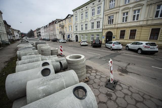 Remont ulicy Piłsudskiego w Koszalinie rusza w czwartek