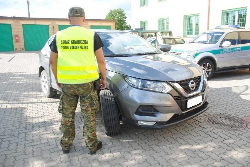 27 czerwca funkcjonariusze straży granicznej pełniący służbę w miejscowości Hołny Mejera zatrzymali do kontroli nissana qashqaia. Samochodem na włoskich numerach rejestracyjnych podróżowało dwoje obywateli Litwy.