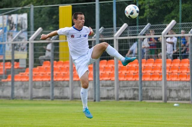 Kapitan MKS-u Kamil Nitkiewicz zdobył bramkę po pięknym strzale z rzutu wolnego.
