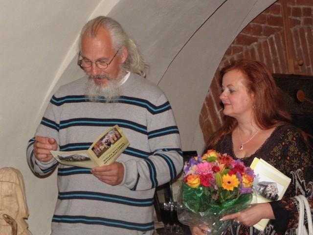 Joanna i Sławomir Mankiewiczowie zapraszają w sobotę na godz. 16.30 do Galerii Oczko w Męcikale, gdzie otworzą wystawę po tegorocznym plenerze
