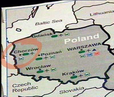 Pomyłka na mapce, którą MENiS wysłał do UEFA, to nie pierwsza wpadka z nazwą lubuskiego miasta w roli głównej. W zeszłym roku pisaliśmy, jak producent widokówek pomylił na mapie nasz Gorzów z Gorzowem Śląskim.