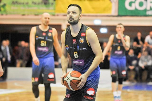 Tomasz Ochońko (Weegree AZS Politechnika Opolska) obok zdobycia 25 punktów zanotował też sześć asyst.