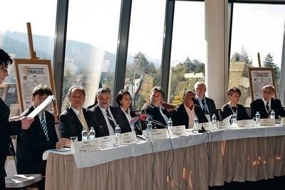 Konferencja prasowa inaugurująca Forum Fot. (GAB)