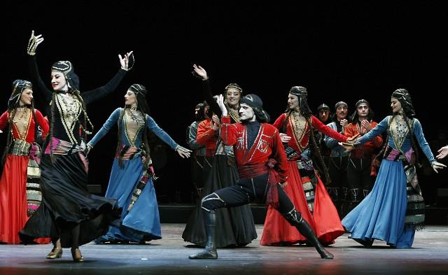 """Narodowy Balet Gruzji  """"Sukhishvili"""" to popis energii"""
