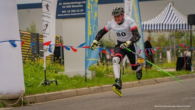 Mistrzostwa Polski 2021 we wrotkarstwie alpejskim w Skawinie